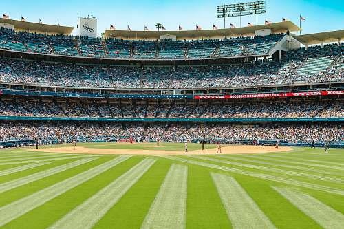 baseball baseball stadium during daytime baseball field