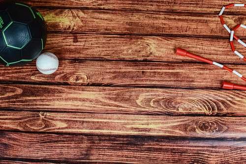 rug baseball hardwood