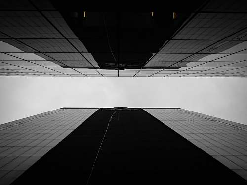 building low angle view of glass high-rise buildings architecture