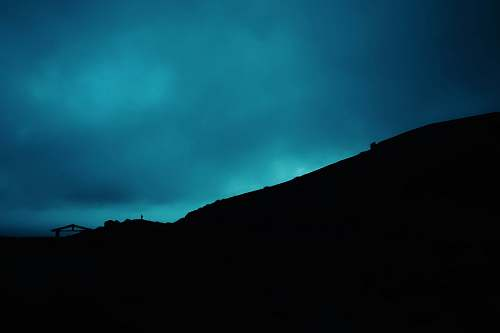sky silhouette of mountain nicaragua