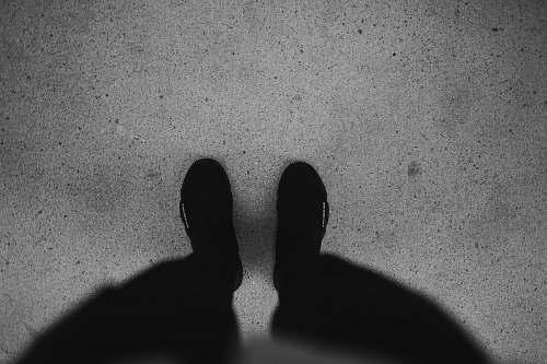 black-and-white pair of black socks apparel