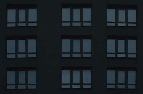 window rectangular black frame illustration grey