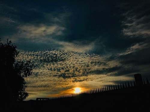nature sunset scenrey outdoors