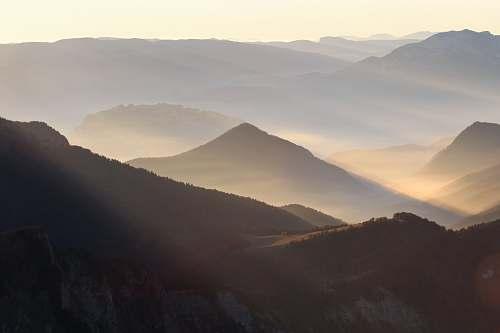 mountain mountain terrain nature
