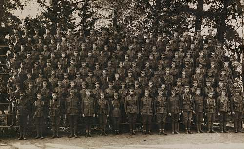 person grayscale photography of army group picture army