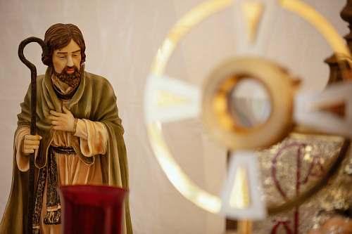 people Joseph religious figurine person