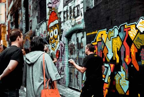 people man drawing graffiti graffiti