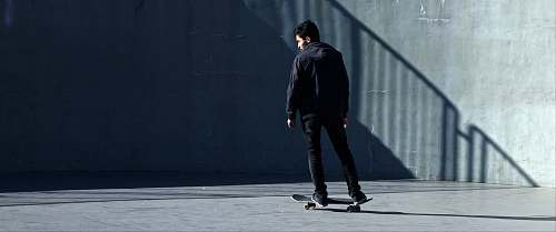 human man skating at park person