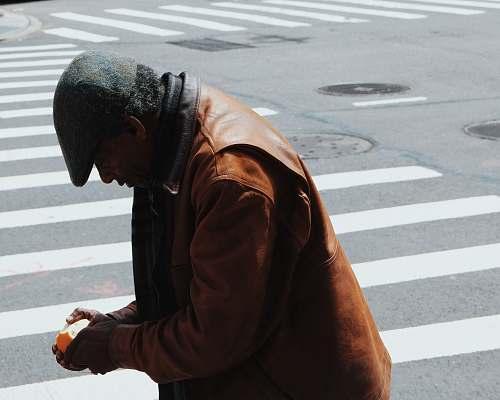 human man walking on pedestal lane person
