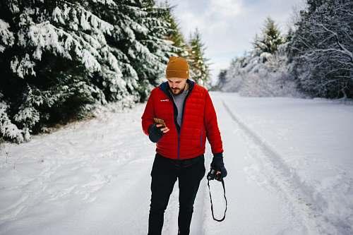 human photo of man holding camera people