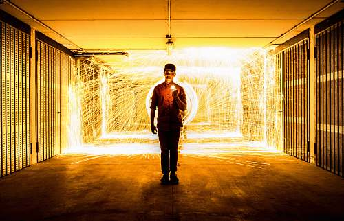 human steel wool photography people