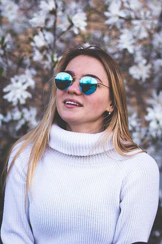 human woman smiling people
