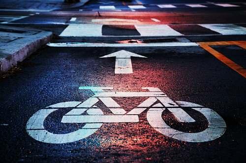 street bicycle lane cycling