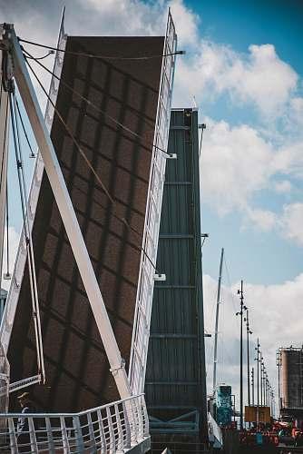 architecture white and brown bridge transportation