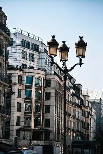 transportation brown concrete building lamp