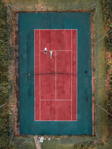 backgrounds two person lying on tennis court wallpapers
