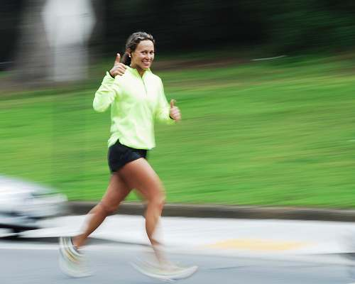 exercise woman running sports